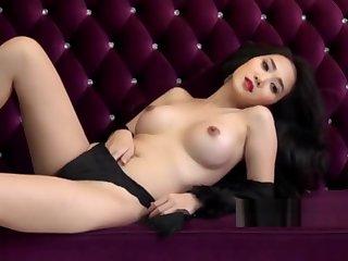 Super hot Chinese model photo shoot leaked